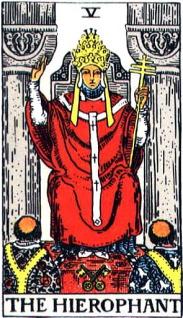 タロットカード司祭長