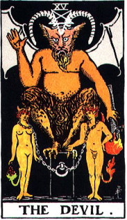タロットカード悪魔